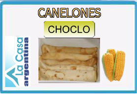 canelones choclo