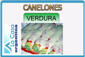 canelones verdura