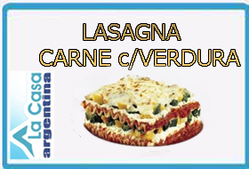 lasagna carne con verdura