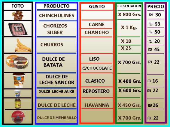 06 ch lista de precios